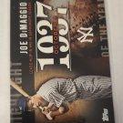 Joe DiMaggio 2015 Topps Highlight Of The Year Insert Card