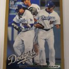 Los Angeles Dodgers 2010 Topps Gold SN 946/2010 Insert Card