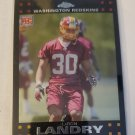 LaRon Landry 2007 Topps Chrome Rookie Card