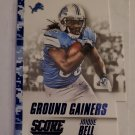 Joique Bell 2015 Score Ground Gainers Blue Camo Insert Card