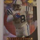 Marshall Faulk 1999 CE Fury Forerunners Insert Card