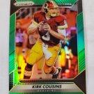 Kirk Cousins 2016 Prizm Prizms Green Insert Card