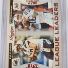 Peyton Manning & Philip Rivers 2011 Prestige League Leaders Insert Card