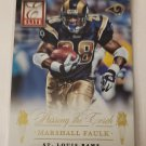 Marshall Faulk & Todd Gurley 2015 Elite Passing The Torch Insert Card