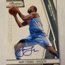 Gary Forbes 2010-11 Prestige Draft Picks Rights SN 53/199 Autograph Card