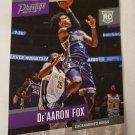De'Aaron Fox 2017-18 Prestige Rookie Card