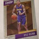 Kyle Kuzma 2017-18 Prestige Micro Etch Rookies Insert Card