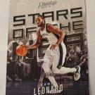 Kawhi Leonard 2017-18 Prestige Stars Of The NBA Insert Card