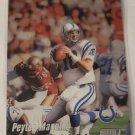 Peyton Manning 1999 Stadium Club Chrome Base Card