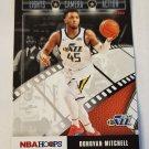 Donovan Mitchell 2019-20 NBA Hoops Lights Camera Acion Insert Card