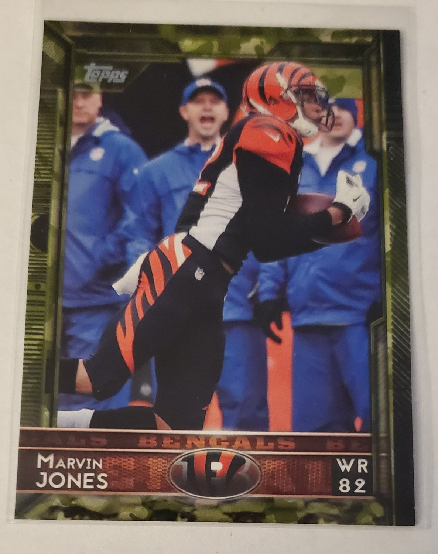 Marvin Jones 2015 Topps Camo SN 373/399 Insert Card