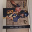 Aaron Rodgers 2015 Contenders Draft Old School Colors Insert Card
