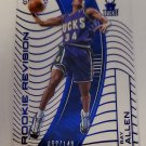 Ray Allen 2015-16 Clear Vision RR Blue SN 69/149 Insert Card