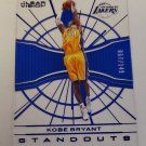 Kobe Bryant 2015-16 Clear Vision Standouts Blue SN 67/149 Insert Card