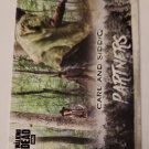 Carl & Siddiq 2018 The Walking Dead Hunters And The Hunted Partners Insert Card