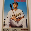 Stephen Piscotty 2019 Topps Heritage SP Base Card