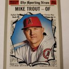 Mike Trout 2019 Topps Heritage AS Base Card