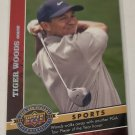 Tiger Woods 2009 Upper Deck 20th Anniversary Insert Card