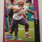 Ed Oliver 2019 Score NFL Draft Purple Insert Card