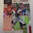 Julio Jones 2019 Score All Hands Team Insert Card