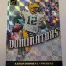 Aaron Rodgers 2019 Donruss Dominators Insert Card