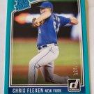 Chris Flexen 2018 Donruss Blue Border SN 128/199 Rookie Card