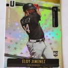 Eloy Jimenez 2019 Unparalleled Astral Rookie Card