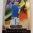 Cavan Biggio 2019 Titan Rookie Card