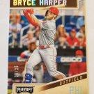 Bryce Harper 2019 Playoff Holo Silver SN 18/25 Insert Card