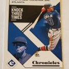 Ronald Acuna Jr 2019 Chronicles Base Card