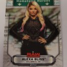 Alexa Bliss 2019 Topps WWE Raw Hometown Heroes Insert Card