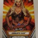 Charlotte Flair 2019 Topps WWE Summer Slam Base Card