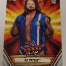 AJ Styles 2019 Topps WWE Summer Slam Base Card