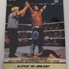 AJ Styles 2019 Topps WWE Summer Slam Greatest Matches & Moments Insert Card