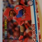 Willie Calhoun 2019 Topps Independence Day SN 74/76 Insert Card