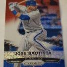 Jose Bautista 2015 Prizm Prizms Red White Blue Mojo Insert Card