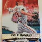 Cole Hamels 2015 Prizm Prizms Red White Blue Mojo Insert Card
