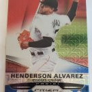 Henderson Alvarez 2015 Prizm Prizms Red White Blue Mojo Insert Card
