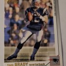 Tom Brady 2002 Pacific Heads Update Base Card