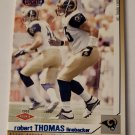 Robert Thomas 2002 Heads Update Blue Rookie Card