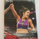 Bayley 2017 Topps WWE Womens Division WWE Matches & Moments Insert Card