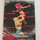 Sasha Banks 2017 Topps WWE Womens Division WWE Matches & Moments Insert Card