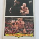 Steve Austin & Triple H 2012 Topps Heritage WWE Fabled Tag Teams Insert Card
