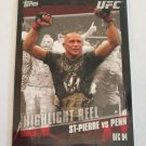 Georges St-Pierre 2010 Topps UFC Base Card