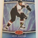 Jeff Carter 2006-07 Flair Showcase Wave Of The Future Insert Card