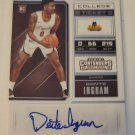 Donte Ingram 2018-19 Contenders Draft Rookie Autograph Card