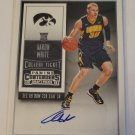Aaron White 2015-16 Contenders Draft Rookie Autograph Card