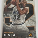 Shaquille O'Neal 2013-14 Pinnacle Behind The Numbers Artist Proof Insert Card