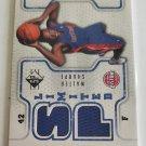 Walter Sharpe 2008-09 AP Authentic Limited Memorabilia Jersey Card