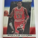 Scottie Pippen 2013-14 Prizm Prizms Blue White & Red Mosiac Monster Box Insert Card